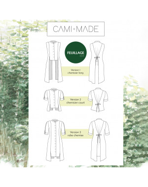 Robe-top Feuillage PDF Cami Made