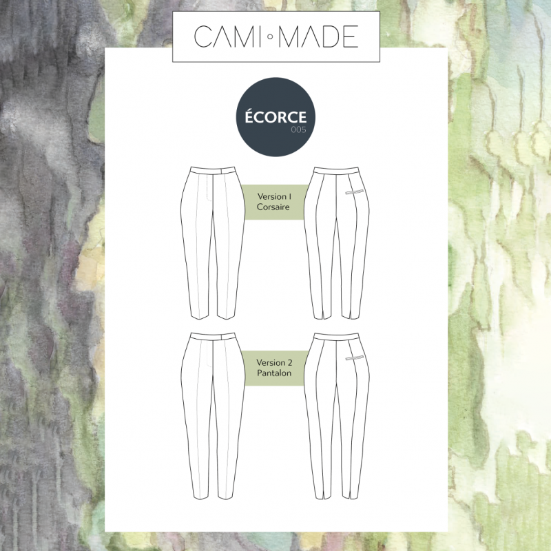 Pantalon Ecorce PDF Cami Made