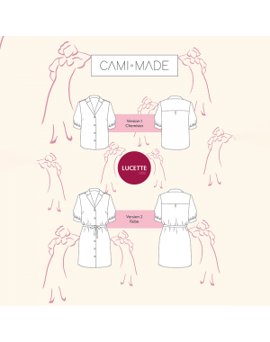 Chemisier/robe Lucette PDF Cami Made