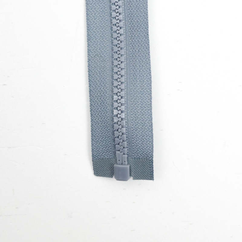Zip séparable - Gris  (75cm)